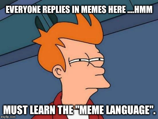 """meme newbie"" thinks 