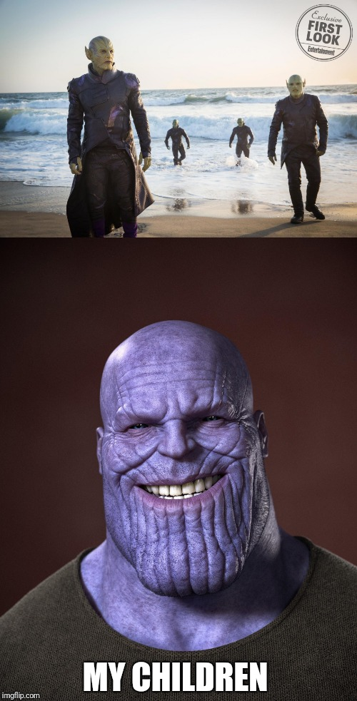 The Real Children Of Thanos Imgflip