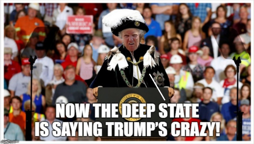 TRUMP'S CRAZY TRAIN | image tagged in president trump,crazy,trump rally,political humor,drag queen,political meme | made w/ Imgflip meme maker