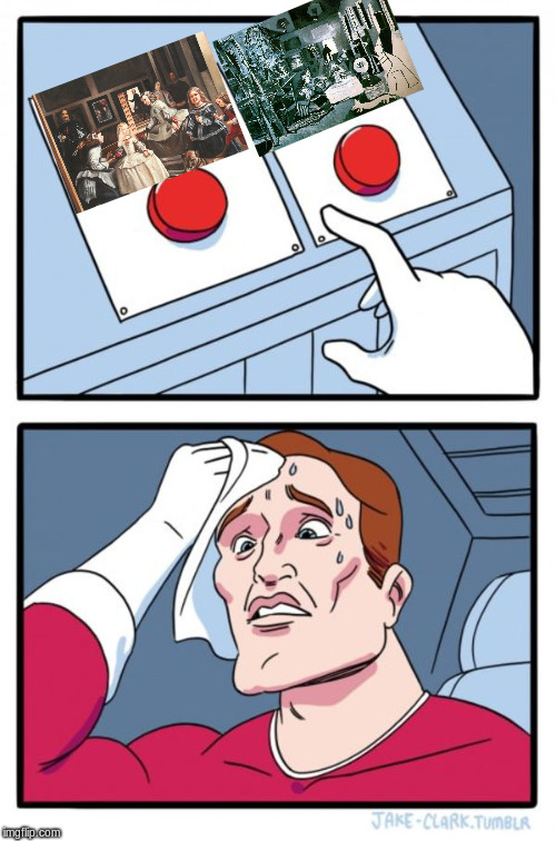 Two Buttons Meme - Imgflip