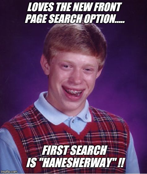 "Search today for ""hanesherway"" !!! 