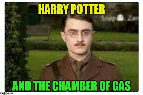 HARRY POTTER AND THE CHAMBER OF GAS | made w/ Imgflip meme maker