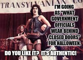 "New Government Issued Uniforms For Elected Officials! | I'M GOING AS ""WHAT GOVERNMENT OFFICIALS WEAR BEHIND CLOSED DOORS"" FOR HALLOWEEN. DO YOU LIKE IT?  IT'S AUTHENTIC! 