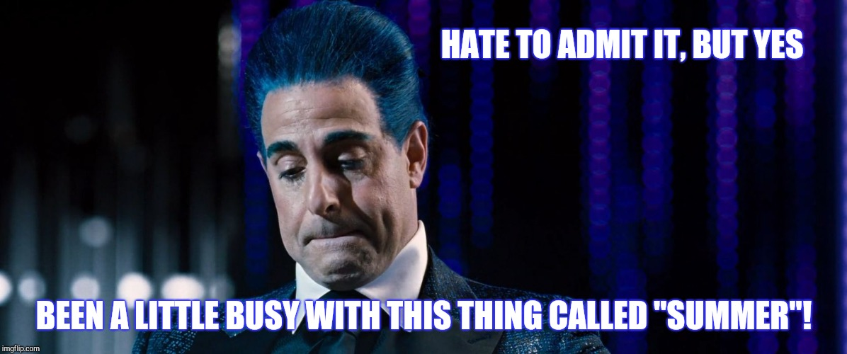 "Hunger Games - Caesar Flickerman (Stanley Tucci) | HATE TO ADMIT IT, BUT YES BEEN A LITTLE BUSY WITH THIS THING CALLED ""SUMMER""! 