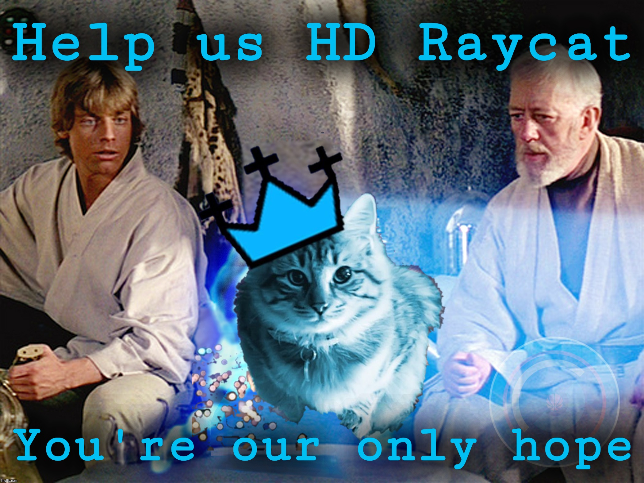 Help us HD Raycat You're our only hope | made w/ Imgflip meme maker