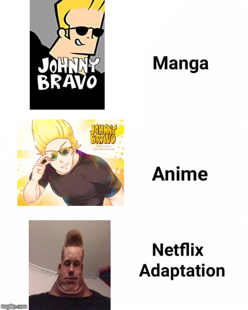 Manga Anime Netflix Adaption Imgflip