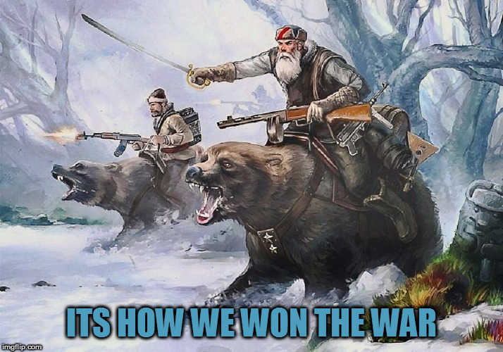 ITS HOW WE WON THE WAR | made w/ Imgflip meme maker