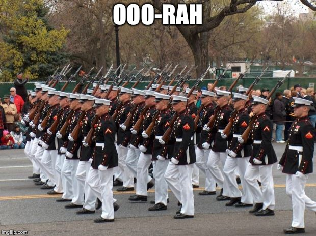 Marines | OOO-RAH | image tagged in marines | made w/ Imgflip meme maker