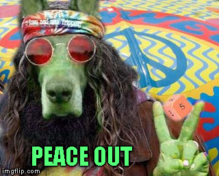 PEACE OUT | made w/ Imgflip meme maker