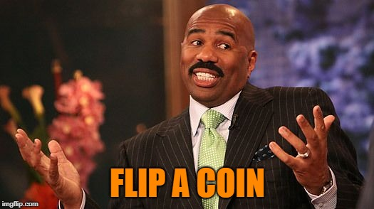 shrug | FLIP A COIN | image tagged in shrug | made w/ Imgflip meme maker