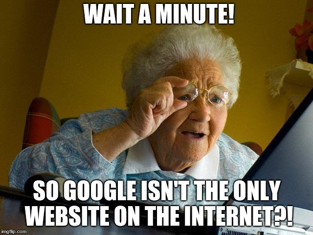 "Grandma Learns About ""OTHER"" websites 