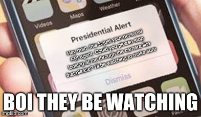Presidential Alert Meme - Imgflip