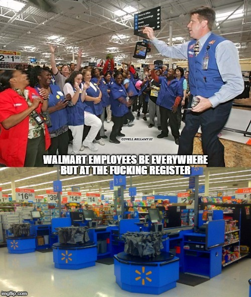 image tagged in walmart store associates | made w/ Imgflip meme maker