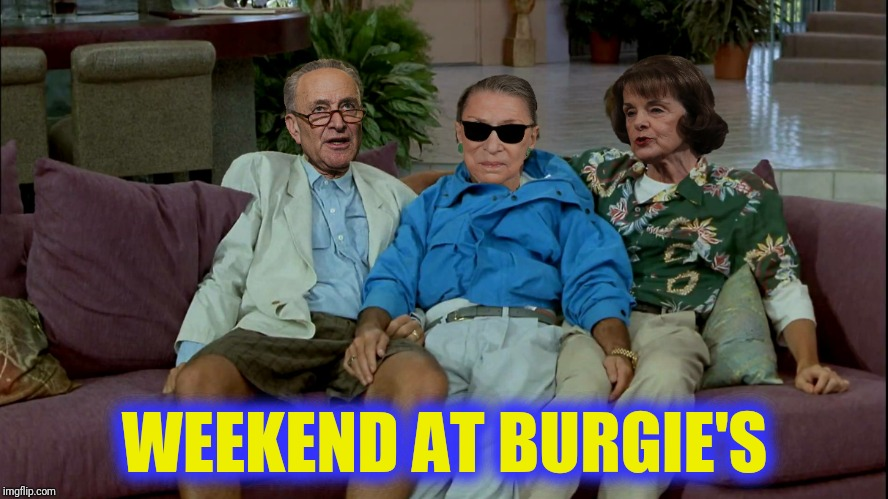 WEEKEND AT BURGIE'S | made w/ Imgflip meme maker