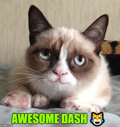 AWESOME DASH  | made w/ Imgflip meme maker