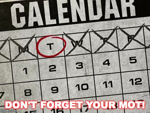 Tuesday Calendar | DON'T FORGET YOUR MOT! | image tagged in tuesday calendar | made w/ Imgflip meme maker