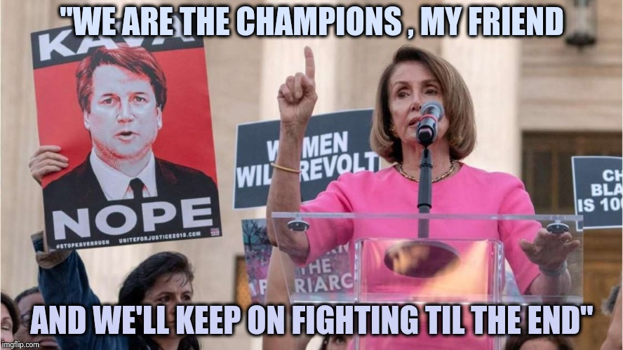 "Classic Rock fans never give up |  ""WE ARE THE CHAMPIONS , MY FRIEND; AND WE'LL KEEP ON FIGHTING TIL THE END"" 