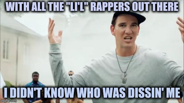 "LI'l Wayne and LI'l Odell are a thing ? |  WITH ALL THE ""LI'L"" RAPPERS OUT THERE; I DIDN'T KNOW WHO WAS DISSIN' ME 