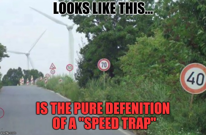 "How Fast Am I Even Supposed To Go? |  LOOKS LIKE THIS... IS THE PURE DEFENITION OF A ""SPEED TRAP"" 