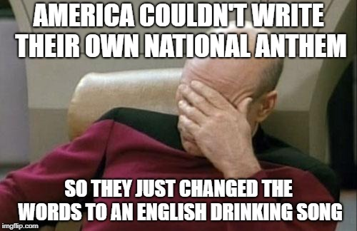 "Called ""To Anacreon in Heaven"" in case anyone's interested 