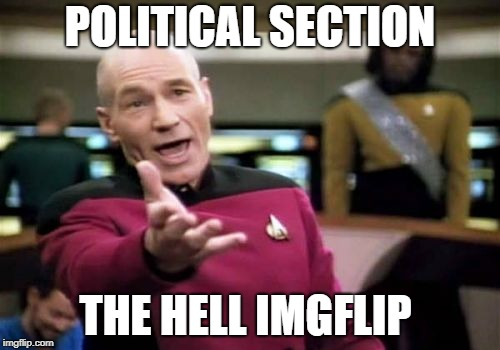 politics and memes dont mix (unless its on communism) | POLITICAL SECTION THE HELL IMGFLIP | image tagged in memes,picard wtf,ssby,wth | made w/ Imgflip meme maker