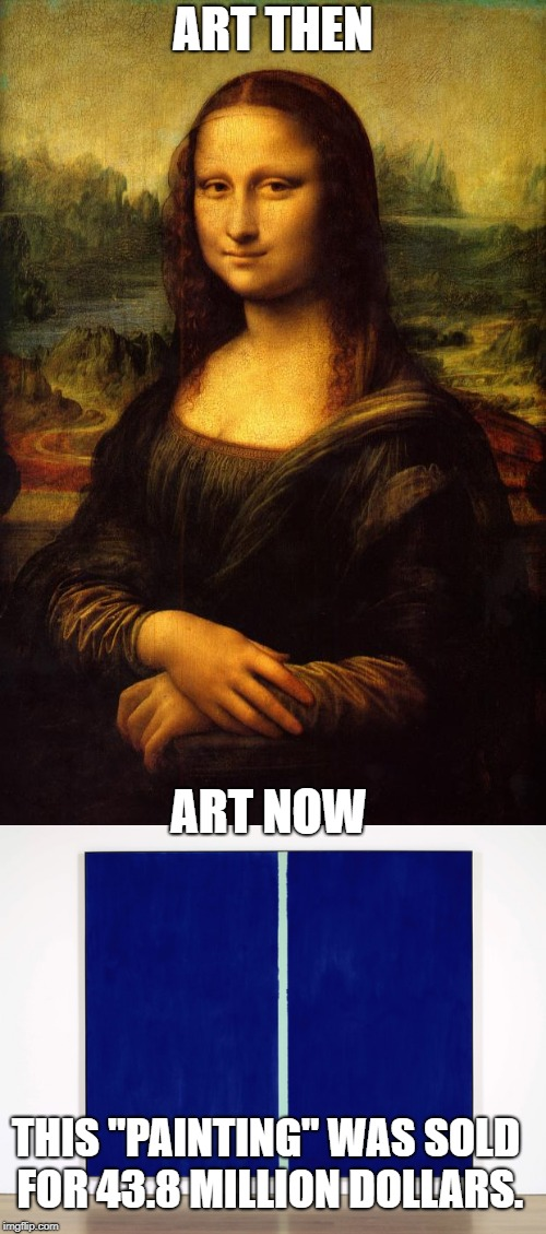 "What happened?! | ART THEN ART NOW THIS ""PAINTING"" WAS SOLD FOR 43.8 MILLION DOLLARS. 