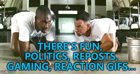 "Bubba explains the ""new and improved"" imgflip... 