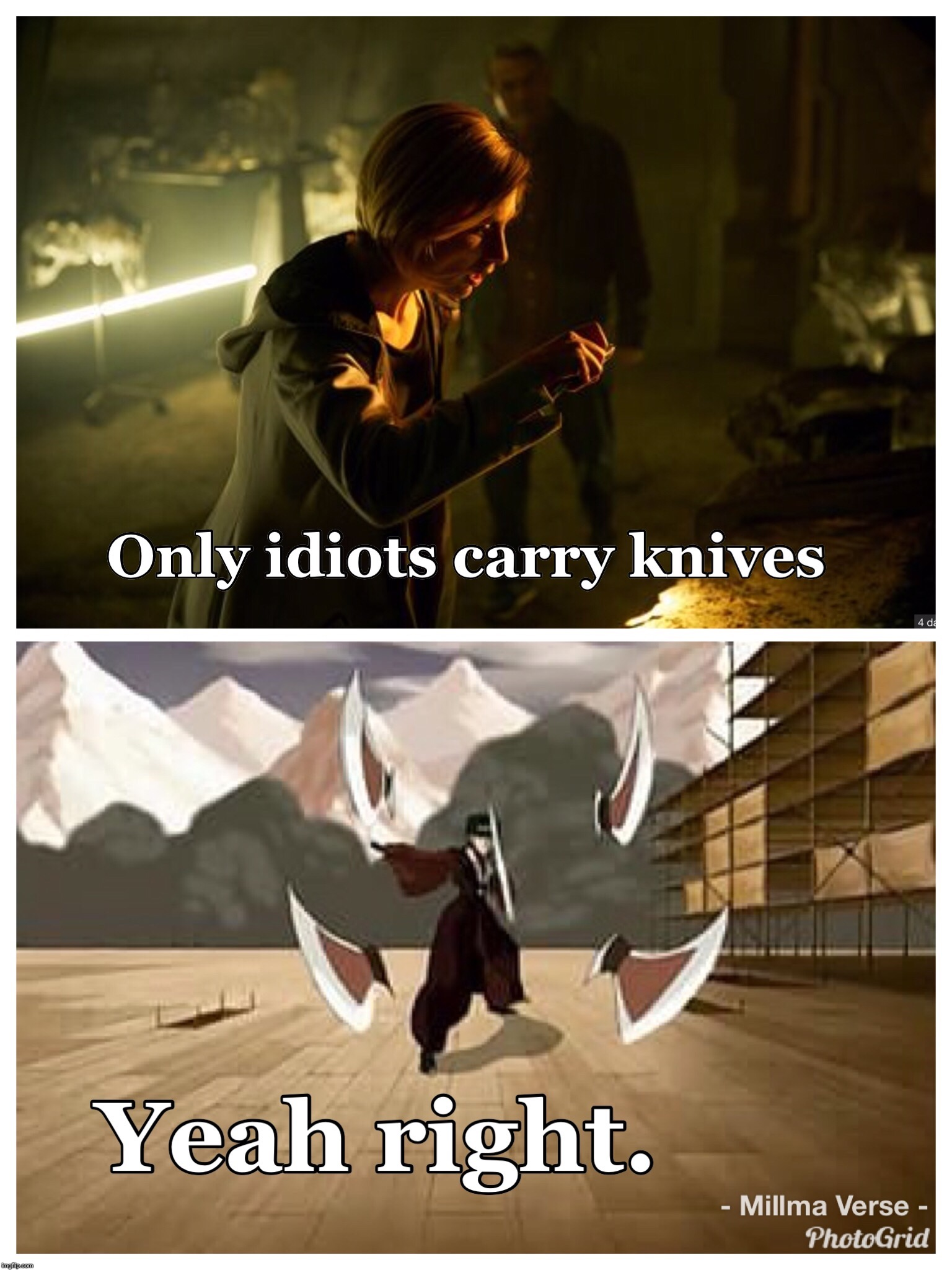 Yeah Right  | image tagged in doctor who,the doctor,avatar the last airbender | made w/ Imgflip meme maker