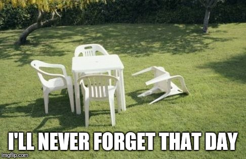 We will rebuild  | I'LL NEVER FORGET THAT DAY | image tagged in we will rebuild | made w/ Imgflip meme maker
