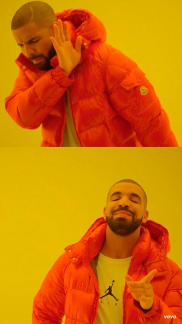 Drake Blank Template Imgflip