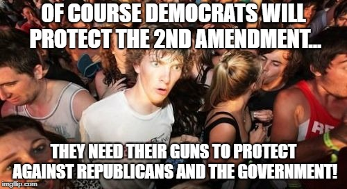 What Democrats REALLY think about the 2nd amendment...