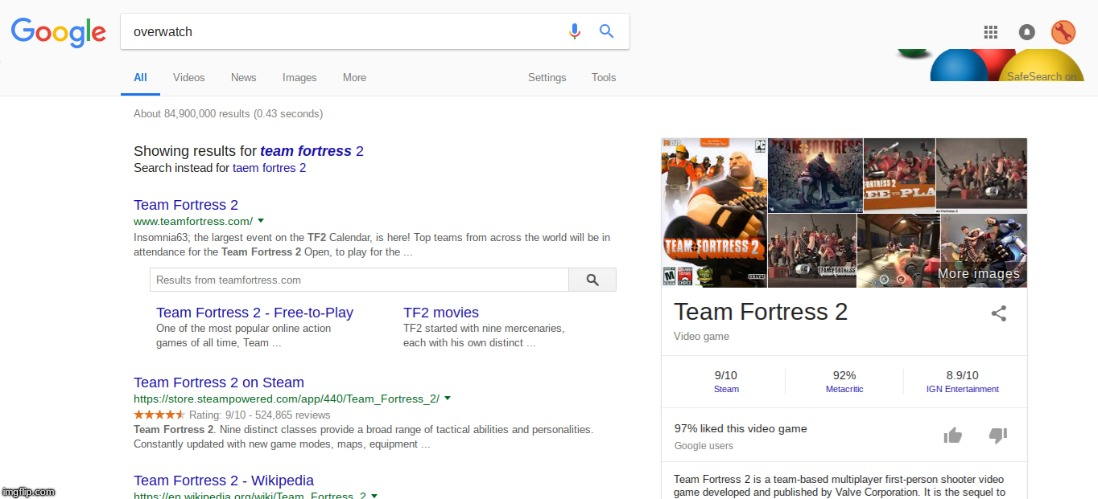 I'm just saying | image tagged in overwatch,tf2,did you mean | made w/ Imgflip meme maker