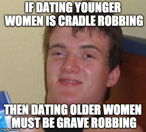 Dating an older man meme