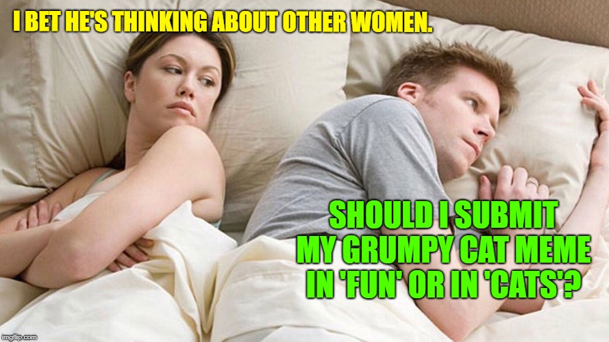 "At least he's faithful to ""Imgflip"" 