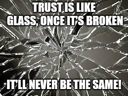 Image tagged in trust issues - Imgflip