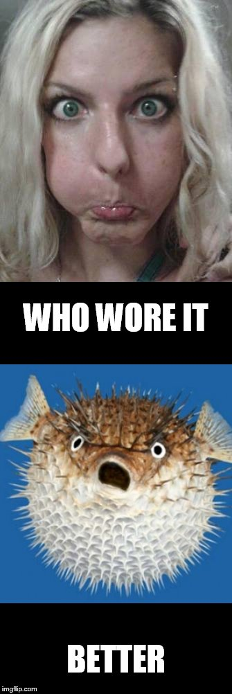 WHO WORE IT BETTER | made w/ Imgflip meme maker