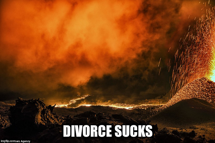 Tell me again why people get married? |  DIVORCE SUCKS | image tagged in mordor | made w/ Imgflip meme maker