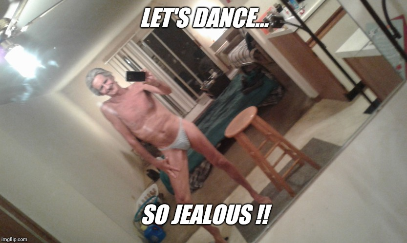 Apartment neighbors... | LET'S DANCE... SO JEALOUS !! | image tagged in apartment neighbors | made w/ Imgflip meme maker