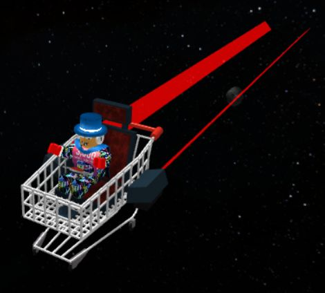 Roblox Galaxy Roblox Galaxy Shopping Cart Blank Template Imgflip