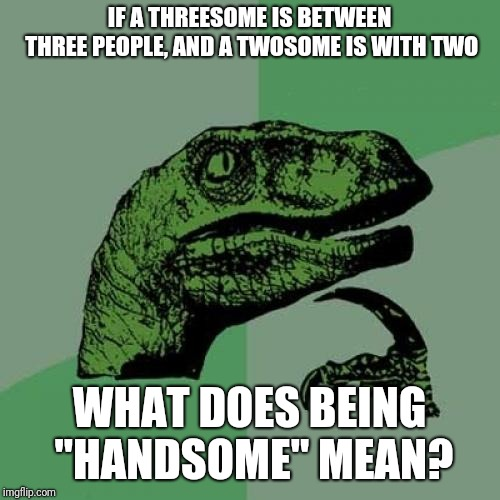 what does handsome mean