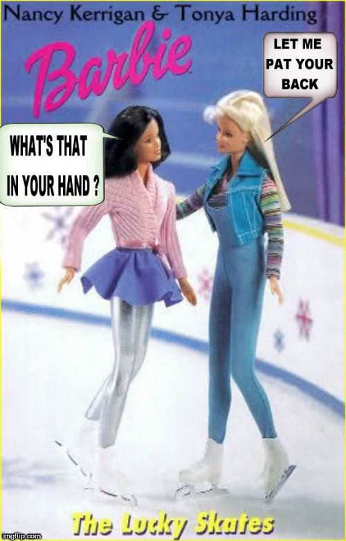 backstabber | image tagged in barbie,books,ice skating,backstabber,skating,stab | made w/ Imgflip meme maker