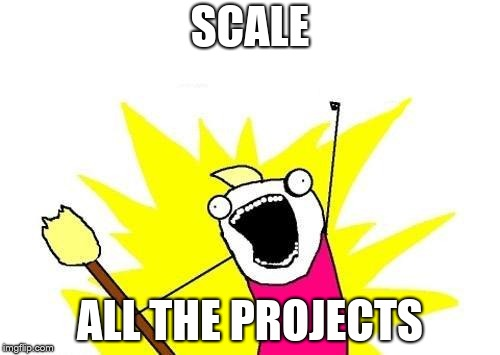 Scale Projects Meme