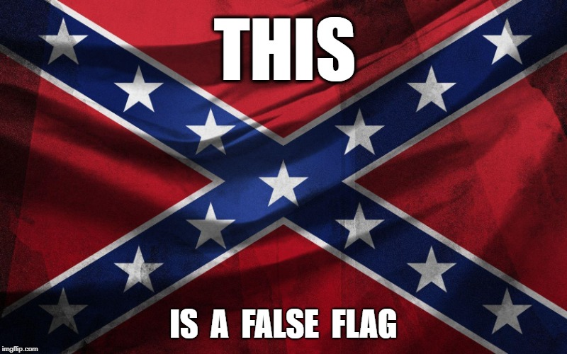 The REAL False Flag | THIS IS  A  FALSE  FLAG | image tagged in trump,white nationalism,nationalist,bombs,false flag | made w/ Imgflip meme maker