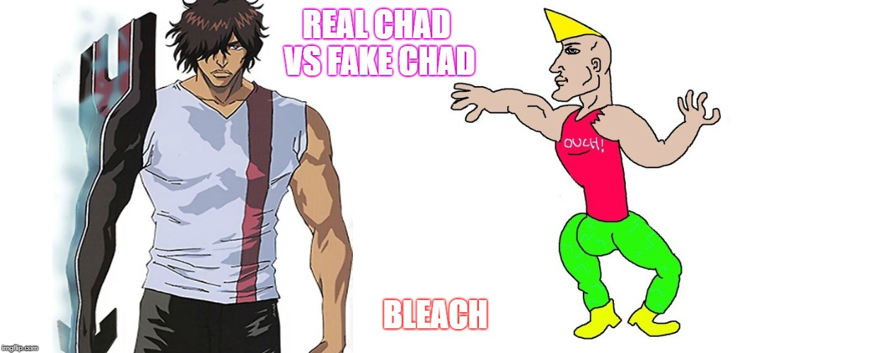 The True Chad - Imgflip