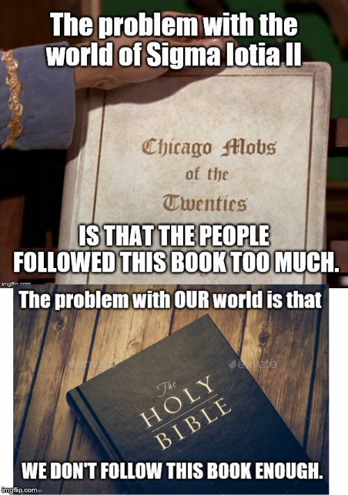 One Wonders if.... | . | image tagged in star trek,the bible | made w/ Imgflip meme maker