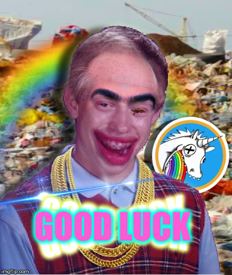 Good Luck Brian | GOOD LUCK GOOD LUCK GOOD LUCK | image tagged in memes,bad luck brian,funny,fun,dank memes,bad photoshop | made w/ Imgflip meme maker