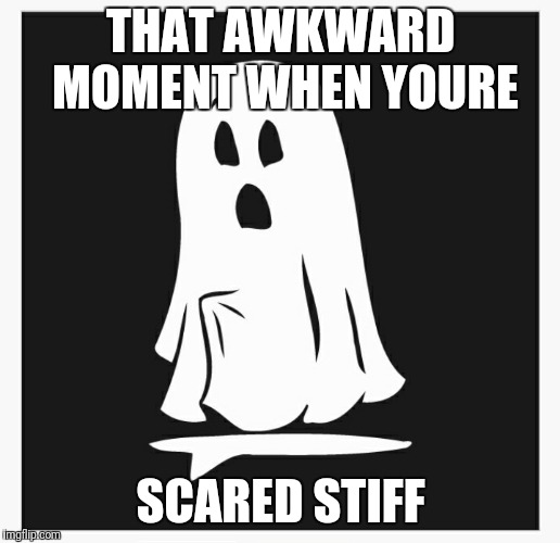 The dead are rising  | THAT AWKWARD MOMENT WHEN YOURE SCARED STIFF | image tagged in ghost,boner | made w/ Imgflip meme maker