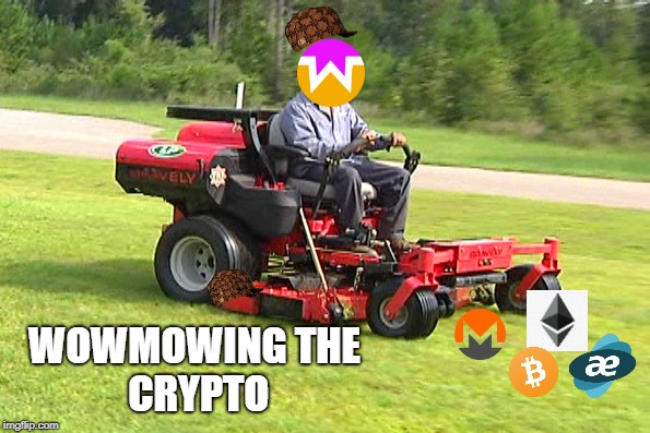 Landscaper On A Riding Lawn Mower Imgflip