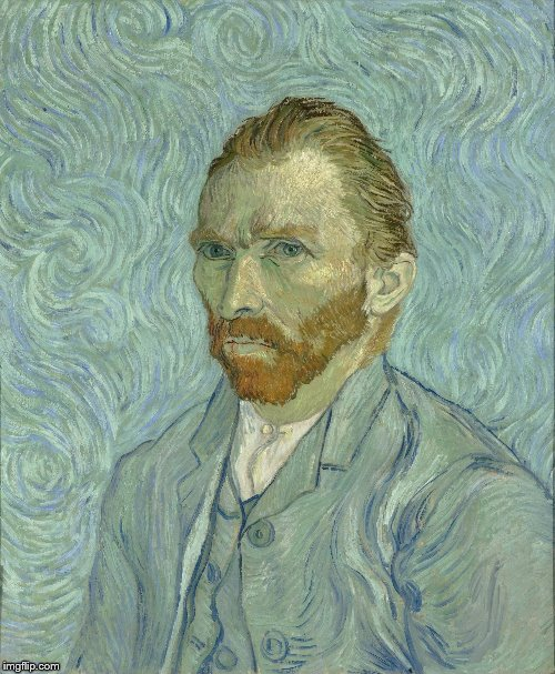 Vincent Van Gogh | image tagged in vincent van gogh | made w/ Imgflip meme maker