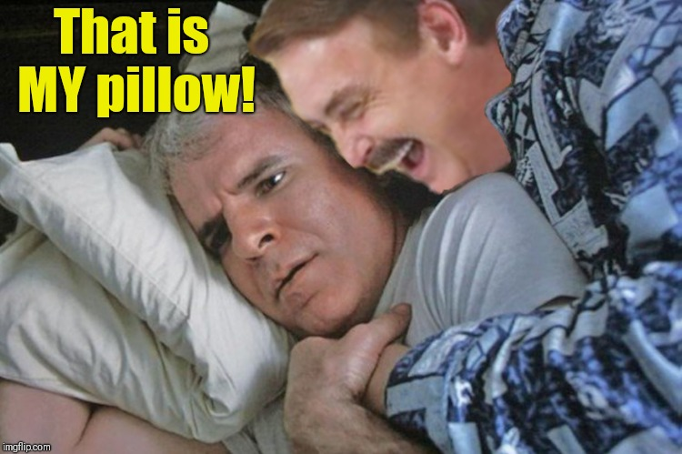 That is MY pillow! | made w/ Imgflip meme maker